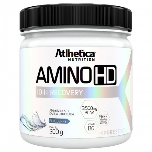 AMINO HD BCAA 10:1:1 ATLHETICA SABOR BLUEBERRY - 300G