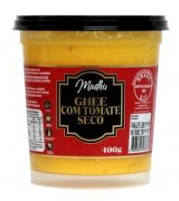Manteiga Ghee 400g COM TOMATE SECO Clarificada Madhu Bakery Sem gluten