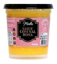 Manteiga Ghee 400g COM SAL ROSA DO HIMALAIA Clarificada Madhu Bakery Sem gluten