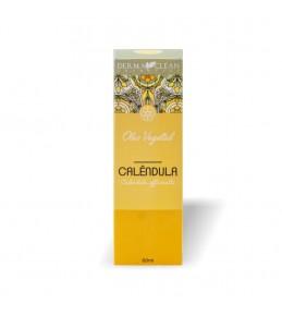 Óleo Vegetal de Calendula Natural 60ml - Derma Clean cosmeticos naturais