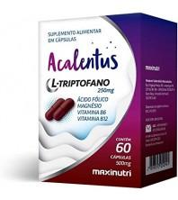 ACALENTUS ( CALMANTE NATURAL ) 60 CÁPSULAS - MAXINUTRI