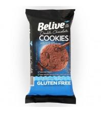 CookieS DOUBLE Chocolate sem Glúten sem Lactose SEM ACÚCAR Belive 34g