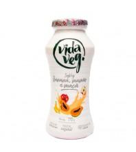 iogurte VEGANO VIDA VEG SABOR banana, maça e mamão 170G