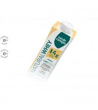 SHAKE natural Whey 14g proteina SABOR BANANA - 250ML - Verde Campo