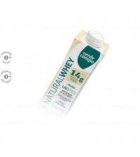 SHAKE natural Whey 14g proteina SABOR BAUNILHA - 250ML - Verde Campo