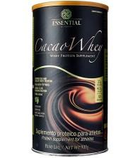 Cacao Whey Sabor chocolate 900g - Essential Nutrition - Whey Protein Hidrolisado e Isolado com Cacau Gourmet