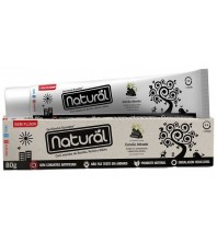 Suavetex Contente Creme Dental Natural com Carvão Ativado 80G
