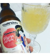 Kombucha PESSEGO SELVAGEM 300ml - Chanoyu