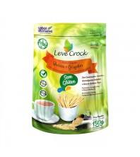 Biscoito Palitos Salgados Quinoa e Gergelim - Leve Crock