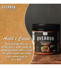 Pasta de Amendoim Avelã e Cacau 500G - Overrun