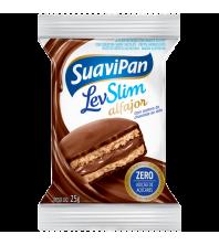 LevSlim Alfajor Chocolate AO LEITE ZERO ACUCAR 25g - Suavipan