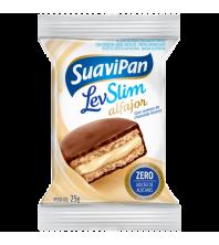 LevSlim Alfajor Chocolate Branco ZERO ACUCAR 25g - Suavipan