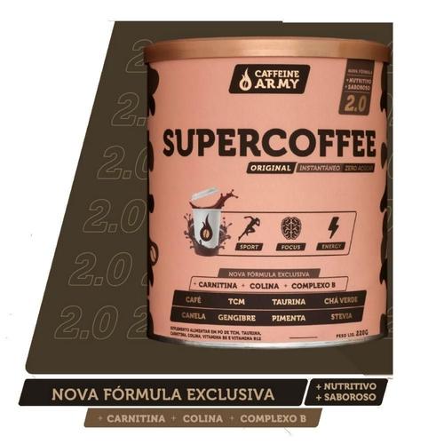 SUPERCOFFEE Caffeine Army 220G TERMOGÊNICO 2.0