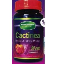 CACTINEA EM 90 CAPSULAS COM VIT C, E E SELENIO ( OPUNTIA FICUS ) BEAUTY NATURE  CLINICAL