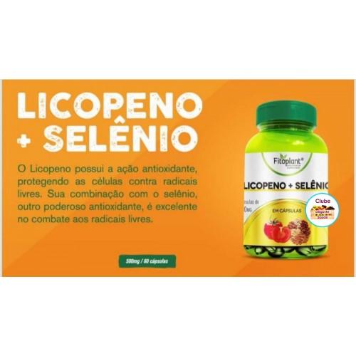 LICOPENO + SELÊNIO 750MG EM 60 CAPSULAS FITOPLANT