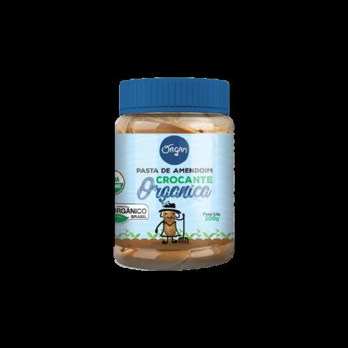 Pasta de Amendoim Crocante Organica 200g - Organ