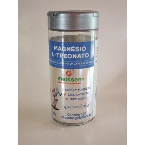 Magnésio L-Treonato 300mg 120 Cápsulas MEISSEN