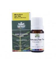Óleo Essencial PURO DE MELALEUCA - 5ml - QUALIDADE PREMIUM WNF ( TEA TREE OIL )
