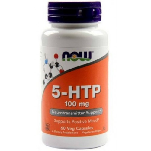 5HTP 100mg ( 60 capsulas ) - Now Foods