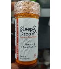 MELATONINA 10MG L-TRIPTOFANO 300MG SLEEP DREAM PERSONAL DOCTOR 50 TABLETS