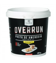 Pasta de Amendoim GRANULADA CROCANTE Integral 1kg - Overrun