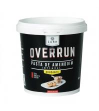 Pasta de Amendoim crocante Integral 500G - Overrun LUKE ALIMENTOS