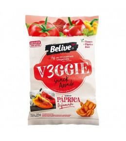 Salgadinho Vegano Paprica Defumada Veggie 35g - Belive