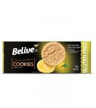 Cookies de Limão Siciliano Sem Glúten Sem Leite 100g - Belive