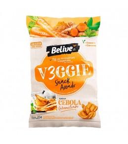 Salgadinho Vegano Cebola Caramelizada Veggie 35g - Belive