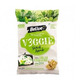 Salgadinho Vegano Cream Cheese Com Ervas Veggie 35g - Belive