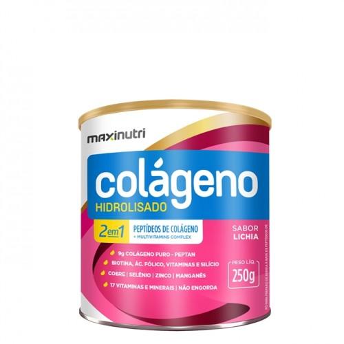 Colágeno Hidrolisado Lichia 250g - Maxinutri