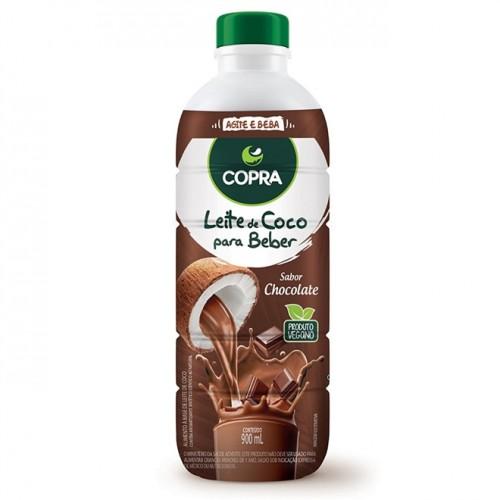 Leite De Coco Pronto Para Beber Chocolate 900ml - Copra