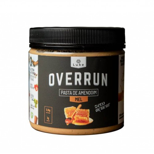 Pasta Amendoim com Mel 500g - Overrun