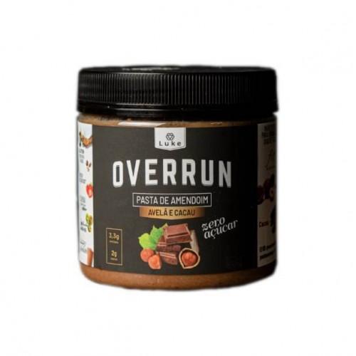 Pasta de Amendoim Avelã e Cacau 350g - Overrun