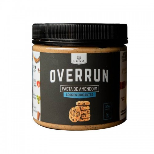 Pasta de Amendoim Cookies 350g - Overrun