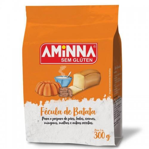 Fécula de Batata Sem Glúten 300g - Aminna