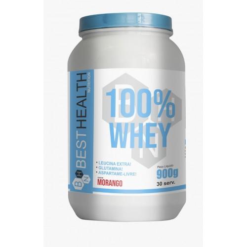 WHEY 100% PROTEINA 900G BEST HEALTH NUTRITION