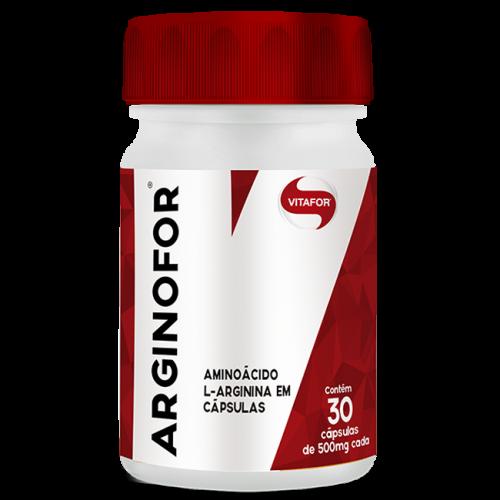 Arginofor (500mg) L-Arginina 30 Cápsulas