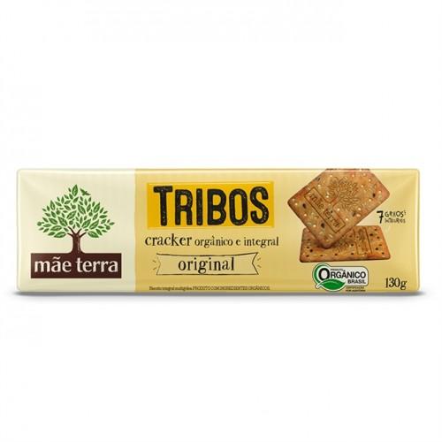 Biscoito Cracker Orgânico Original - 130g - Mãe Terra