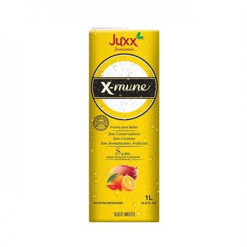 Suco X-MUNE de Frutas Amarelas 1 litro - Sem Açúcar, Corantes e Conservantes - Juxx
