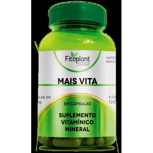 Polivitaminico Mais vita 500mg 120 capsulas Fitoplant