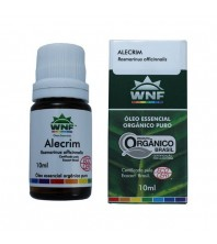 Óleo Essencial PURO DE Alecrim - 10ml - ( Rosmarinus officinalis oil ) WNF