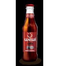 Refrigerante COLA Natural, ORGANICO, Saudável e Zero SÓDIO 255ml - Wewi