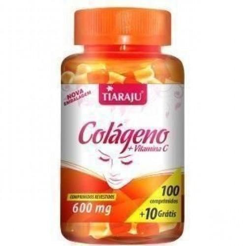 Colágeno + Vitamina C 600mg 110 CAPSULAS TIARAJU