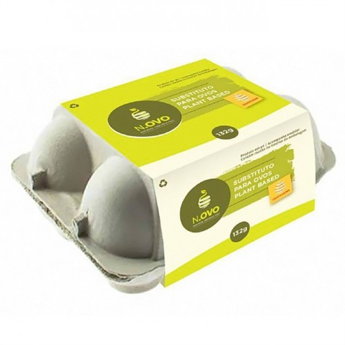Ovo Vegano 132g - Substituto para Ovos Plant Based - N.OVO