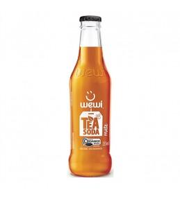 Chá Mate com Bolhas Orgânico Garrafa 255ml - Wewi