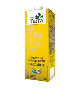 Limonada Orgânica de Gengibre 1L - Poder da Terra
