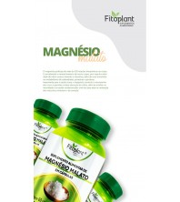 Magnésio Malato 60 CAPSULAS 600 mg FITOPLANT