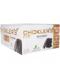 Barra Choklers VEGAN COM 10G  DE ProteinA - 20 Unidades 40g SABOR BOLO DE CHOCOLATE - Mix Nutri