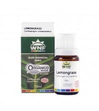 Óleo Essencial PURO DE Lemongrass ORGÂNICO - 10ml - ( Cymbopogon schoenanthus ) WNF